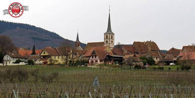 Ruta por los pueblos más bonitos de Alsacia, Francia
