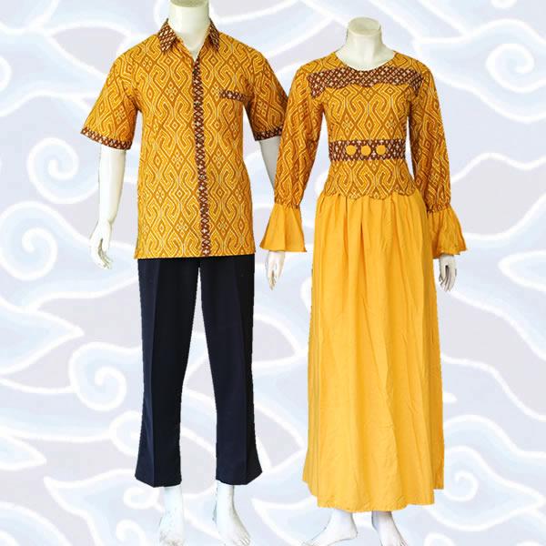 15 Model Baju Batik Couple Terbaru 2017 Gaya Modern