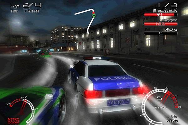 jogos GameHitZone Racers vs Police