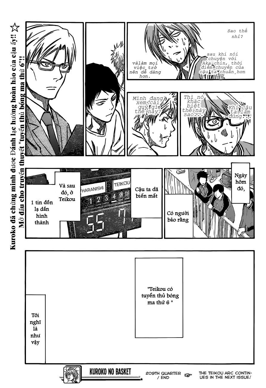 Kuroko No Basket chap 209 trang 19