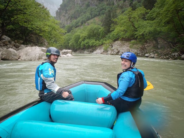 Rafting on Arachthos, Greece
