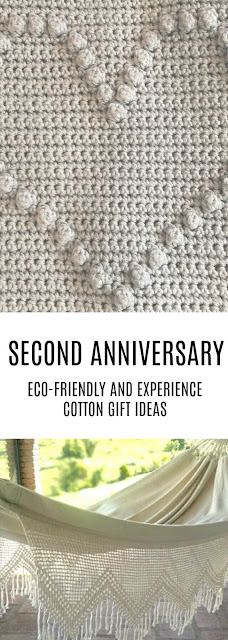 second anniversary cotton gift ideas