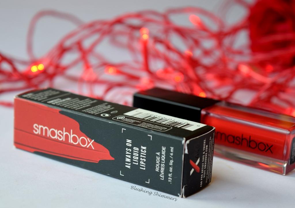 Smashbox Always On Liquid Lipstick 'Bawse'