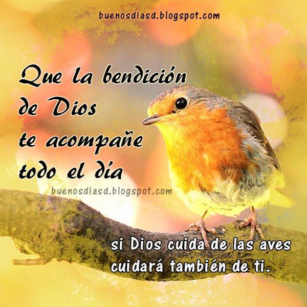 Frases con imágenes de buenos días, bendiciones de Dios para ti, mensaje cristiano, imagen, tarjeta para mi facebook, frases de Mery Bracho.