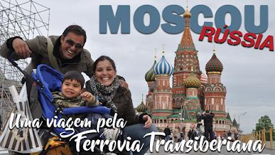 Moscou com crianças