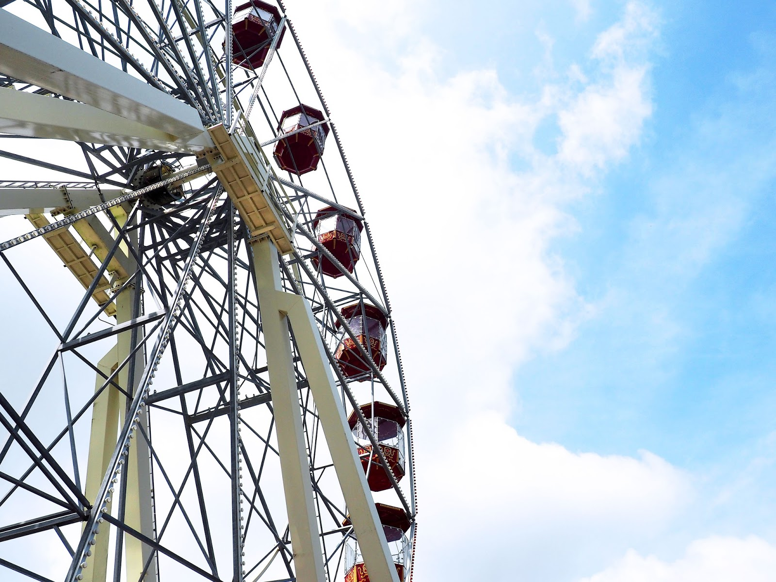 Folly Farm Adventure Park and Zoo Ferris Wheel