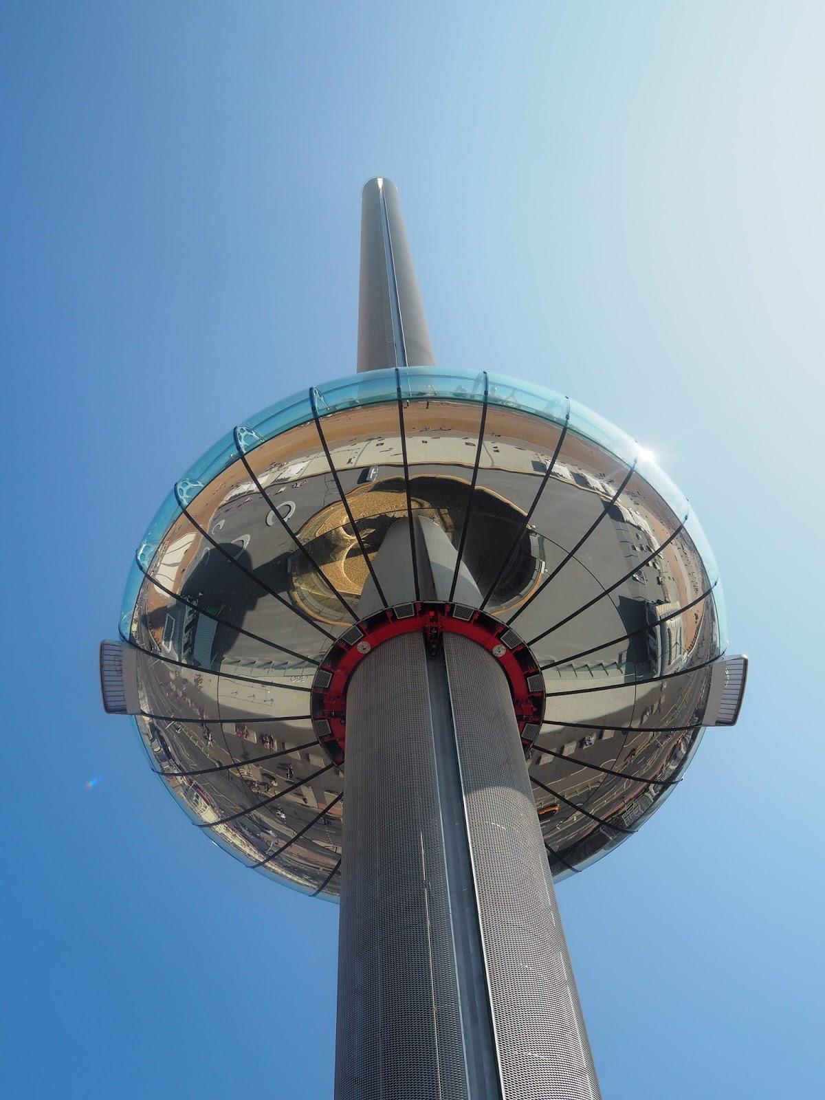 i360 observation tower, Brighton