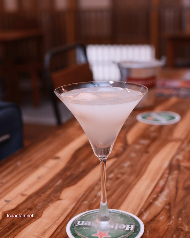 Lychee Martini for you 'mam? RM29