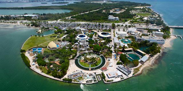 Como chegar no Miami Seaquarium em Key Biscayne