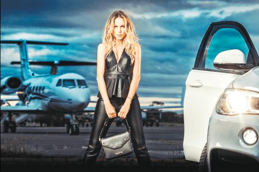 La top magnífica debutará como conductora en PAT en mayo / EL DEBER
