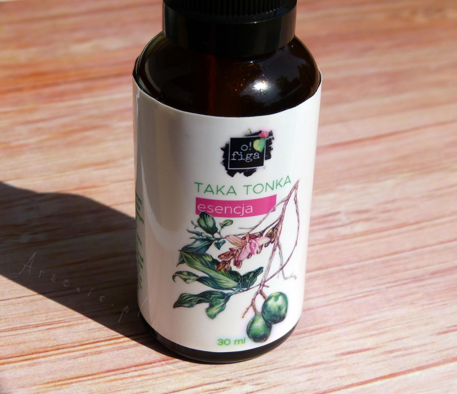 Taka Tonka - serum marki O! Figa rozłożone na części pierwsze. Skład, konsystencja i działanie.