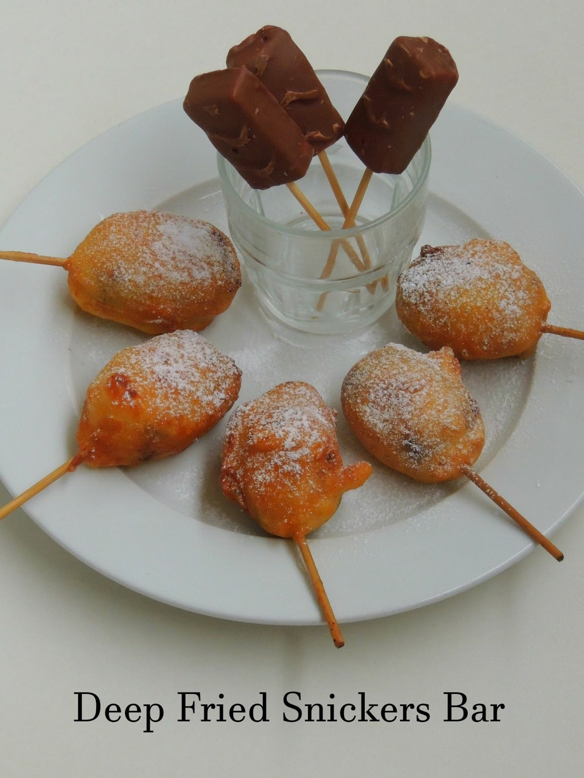 ... have posted during this whole year january deep fried snickers bars