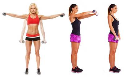 Biserie de ejercicios para hombro para mujeres