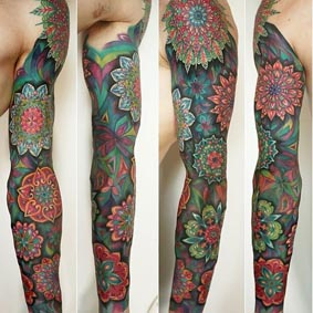 Tatuajes En Zona Sur Tatuarse Mandalas