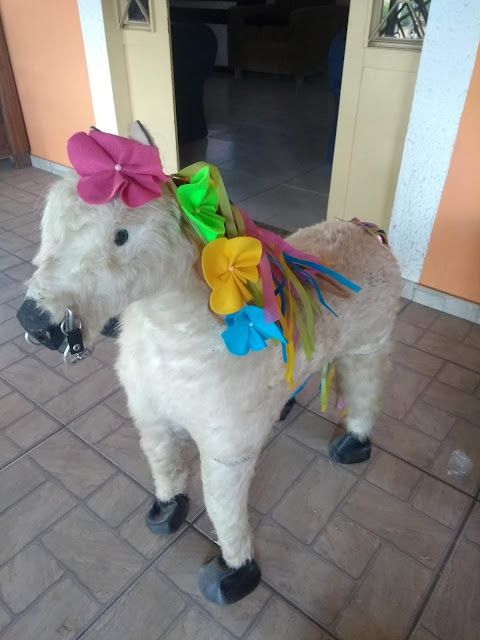 Minhas 24 Horas, flor, flor de feltro, aniversario menina, festa unicornio, aniversário unicórnio, bailarina unicórnio, aniversario diy, flor simples