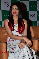 Bollywood Actress Adah Sharma Pos in White Printed Short Dress at OPPO F3 Plus Selfie Expert Mobile Launch .COM 0050.jpg