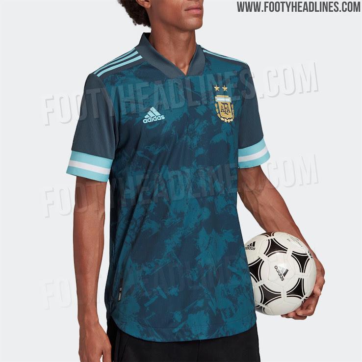 Argentina 2020 Copa America Away Kit 6 | Áo Bóng Đá Sum Store