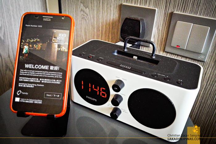 Pentahotel Hong Kong Smartphone