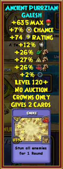 Wizard101 Ghulture's Hoard Pack Review - Swordroll's Blog