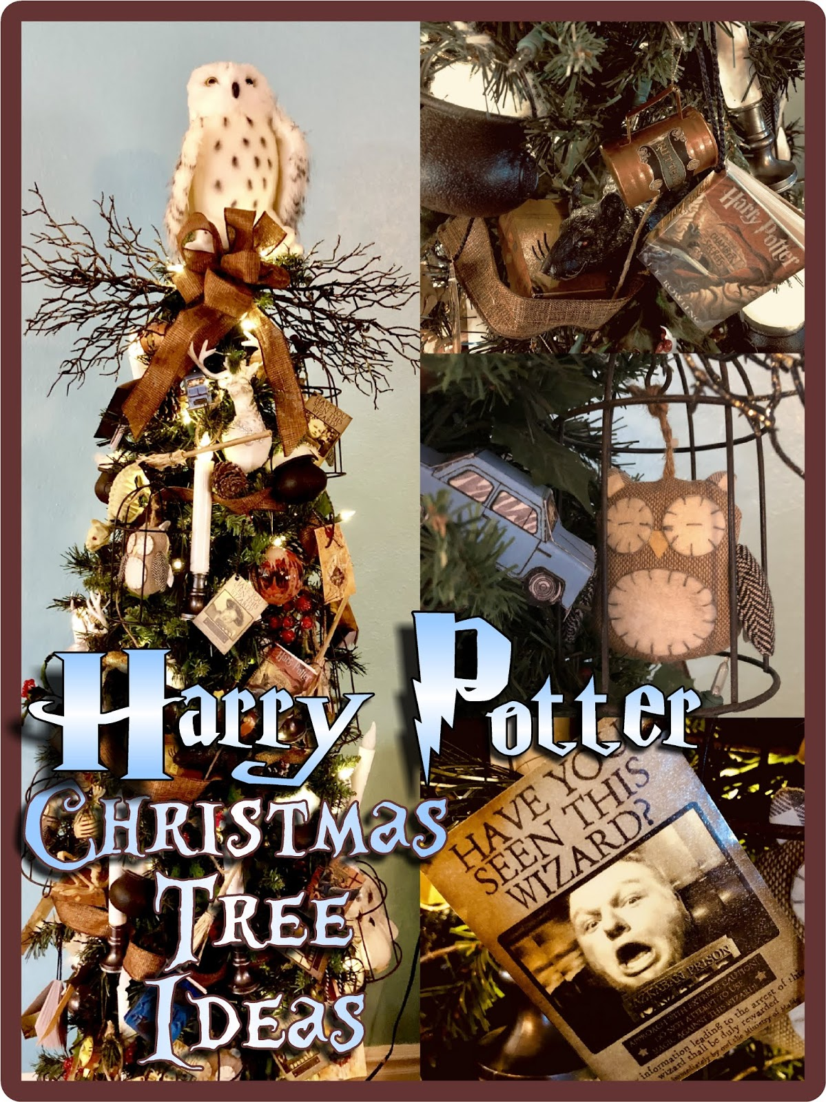 Hollyshome Family Life My Harry Potter Christmas Tree And Ornament