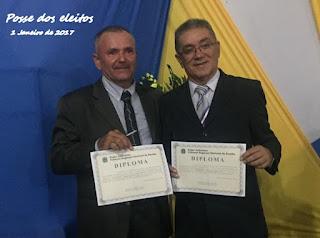 Prefeito e vice convidam população de Baraúna para posse em 1º de Janeiro