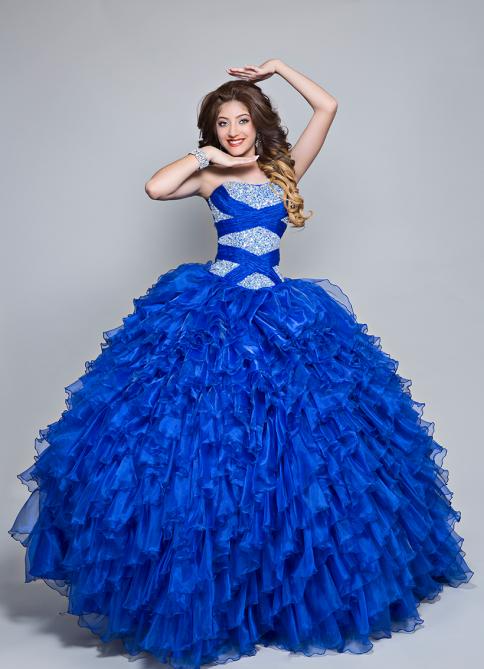Vestidos De 15 Años Azul Rey Propuesta Con Imágenes 101