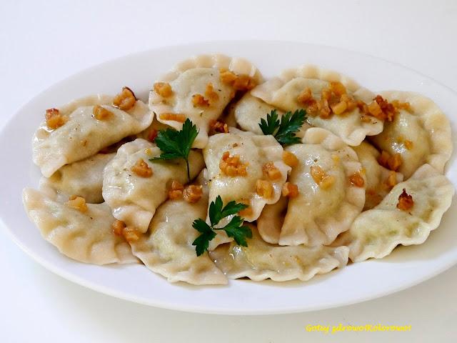Pierogi z ziemniakami - wareniki - Czytaj więcej »