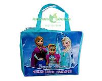 tas ultah anak, tas souvenir ultah, tas ulang tahun, tas ultah frozen, tas ultah murah