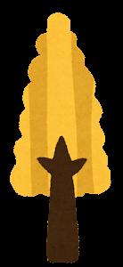 シンプルな木のイラスト4