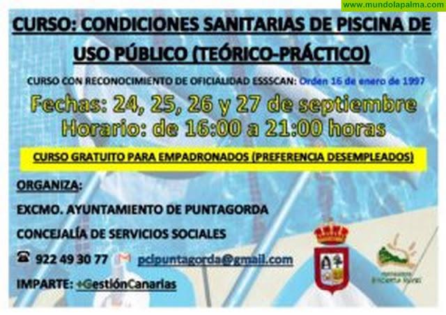 Curso de Condiciones sanitarias de piscina de uso público (20 horas)