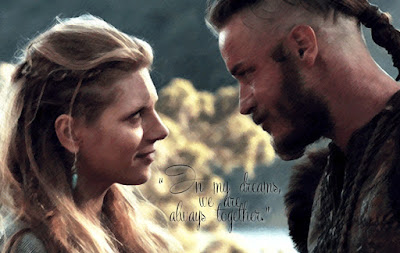 Ragnar Lothbrok and Lagertha, Vikings
