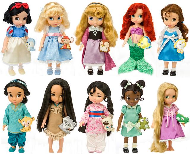 Bonecas Colecionáveis fofas Disney