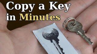 Copy A Key in Minutes