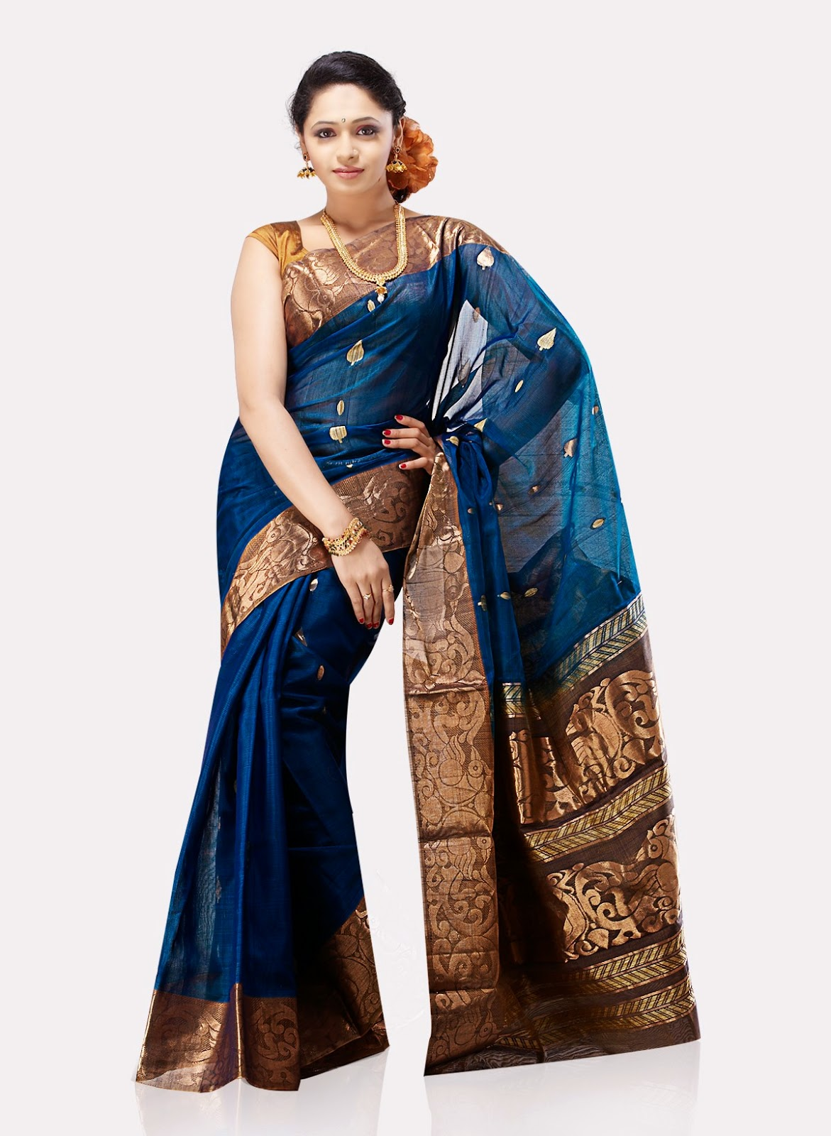 SILK BORDER SAREE