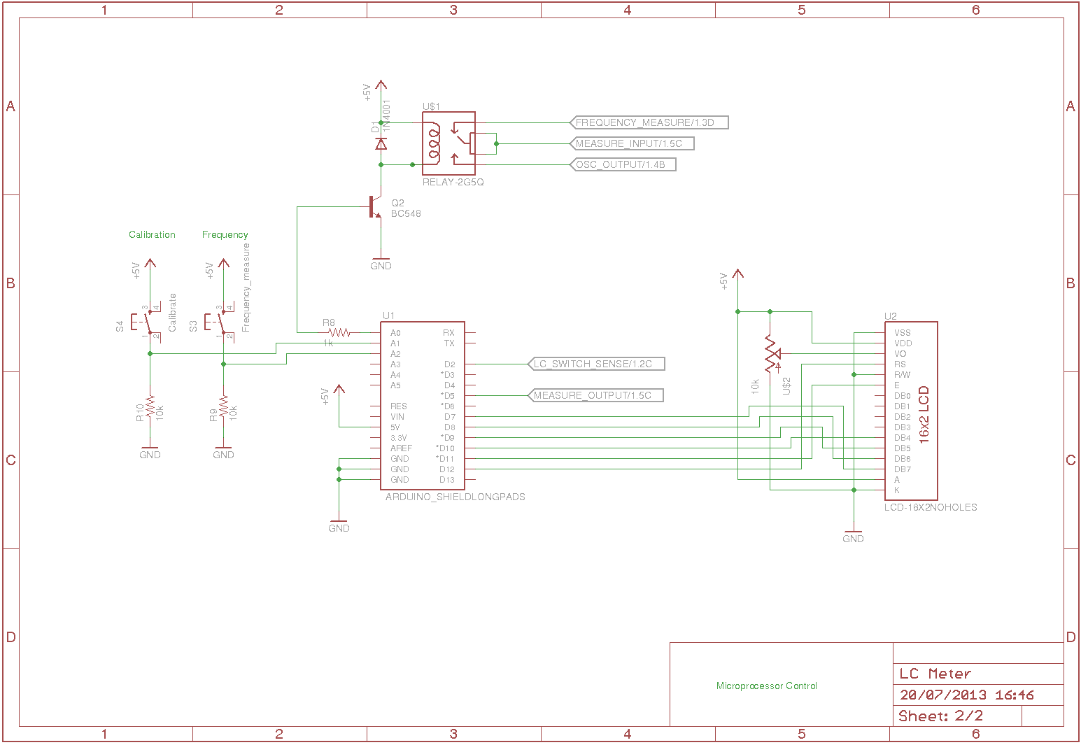 the answer is 42    arduino lc meter shield
