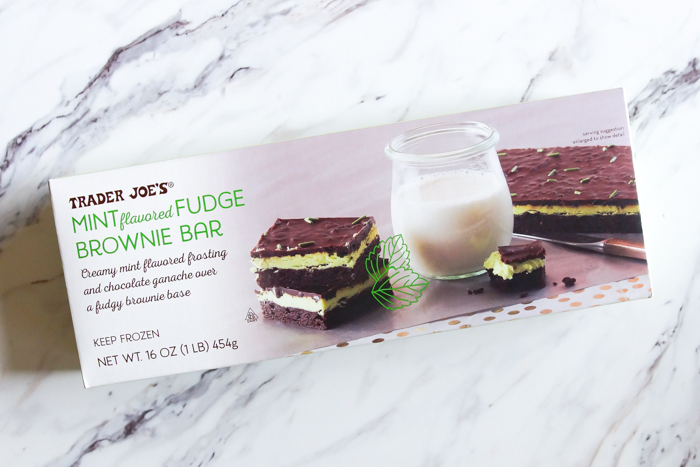 12 Days of Trader Joe's Christmas, Day 5: Mint Fudge Brownie Bar