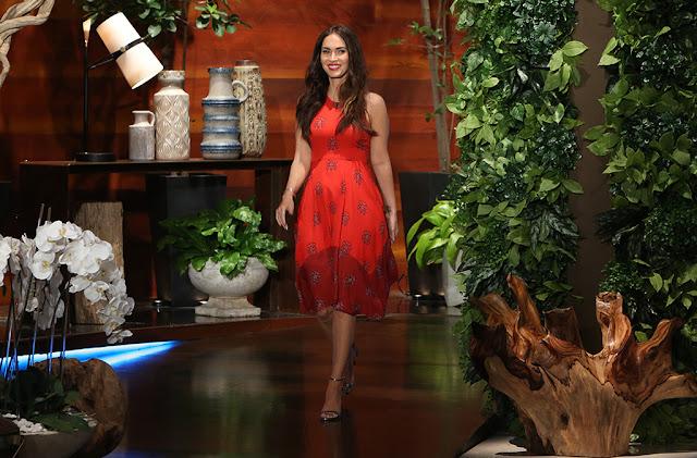 Megan Fox The Ellen DeGeneres Show Interview and Photos