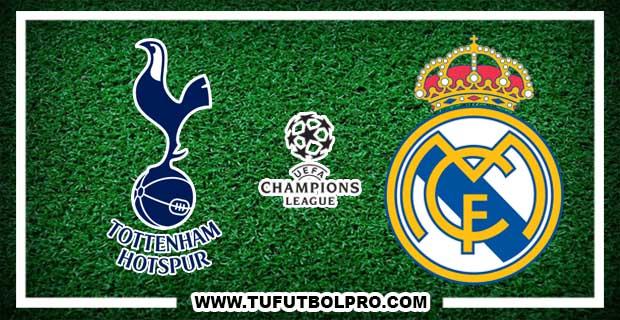 Ver Tottenham vs Real Madrid EN VIVO Por Internet Hoy 1 de Noviembre 2017