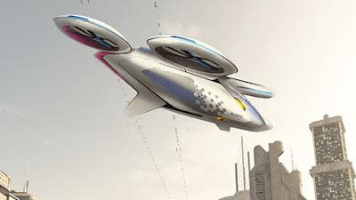 Airbus vol fer realitat els taxis aeris que volen de forma autònoma