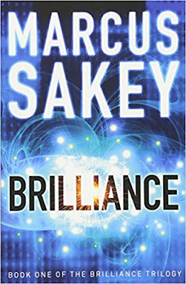 Brilliance by Marcus Sakey (Book cover)