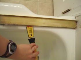 Swoon Style And Home Diy Tutorial Tearing Out Shower Doors