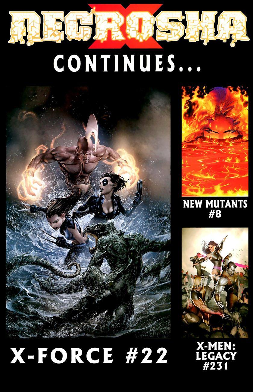 X-Men Necrosha chap 5 trang 43