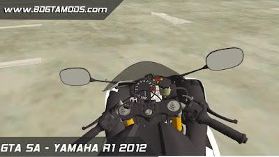 YAMAHA R1 2012 para GTA San Andreas 3