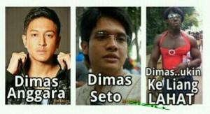 DP BBM: Koleksi Foto Artis Dimas Anggara Dimas Seto