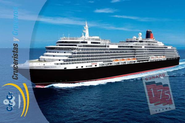 NOTICIAS DE CRUCEROS - Cunard celebró su 175 aniversario en Barcelona