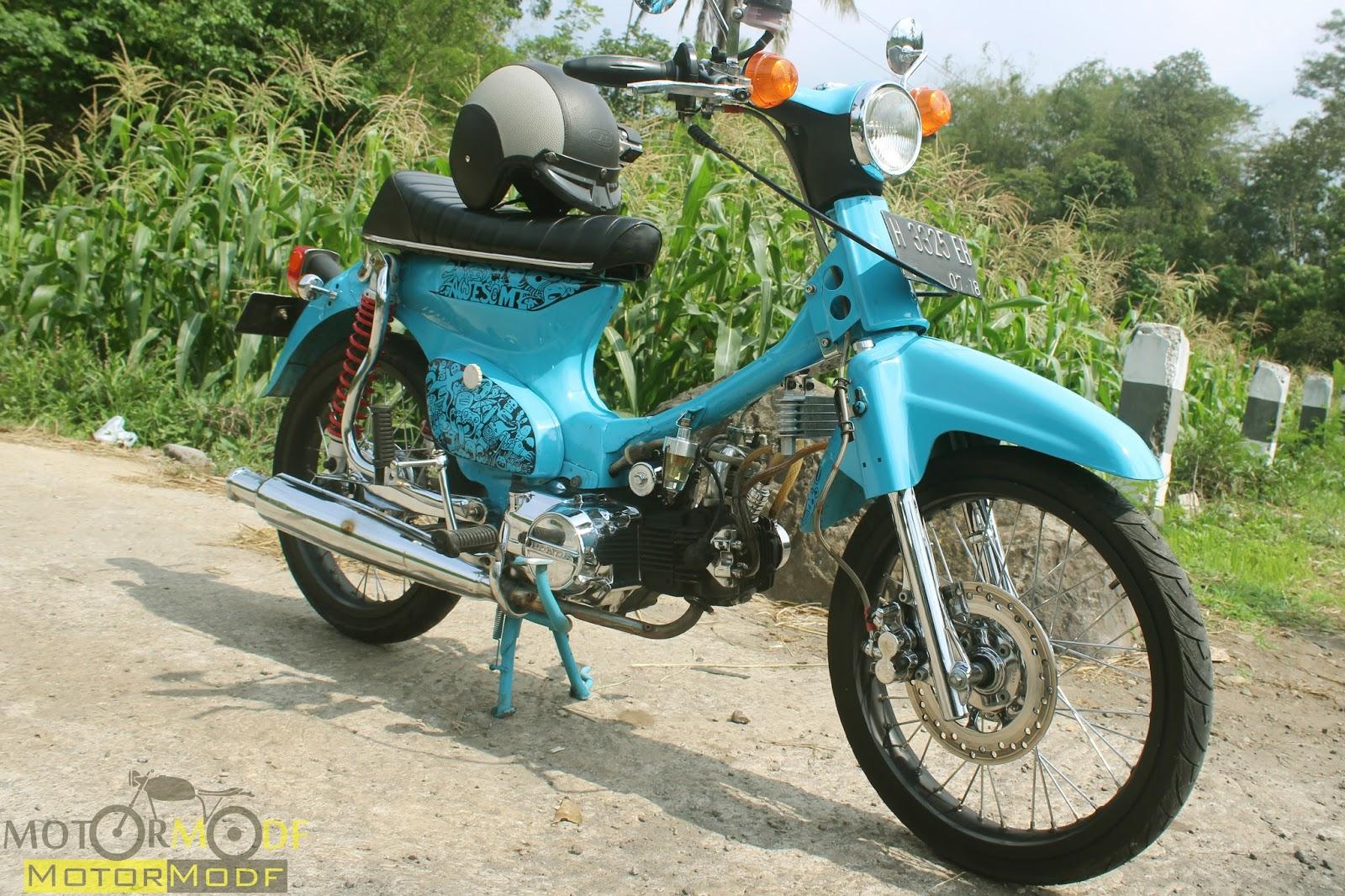 Modifikasi Jap Style C70  Modifikasi Motor Japstyle Terbaru