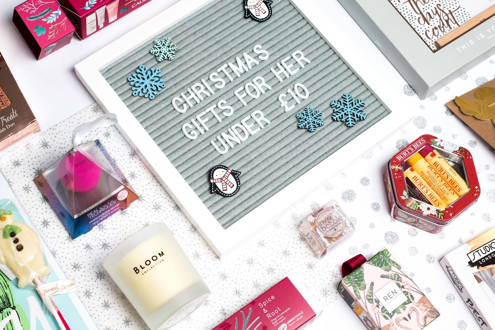 Gifts For Her Under £10 | Christmas Gift Guides 2017 | Hope, Freedom ...