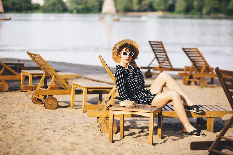 стильный пляжный образ