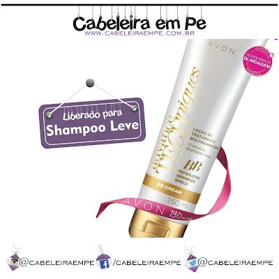 Composição BB Cream para Cabelos Advance Techniques Avon Low Poo (Shampoo Leve)