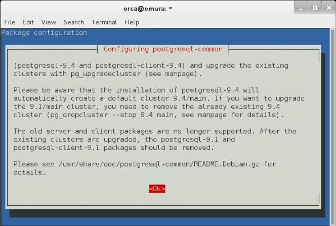Postgresql Client Linux
